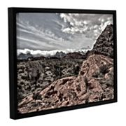 ArtWall Fingertip Afternoon Framed Wall Art
