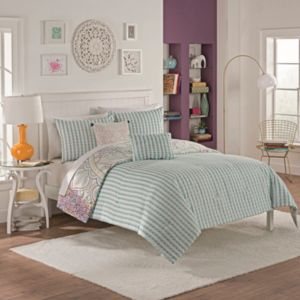 Vue 5-piece Sibella Reversible Comforter Set