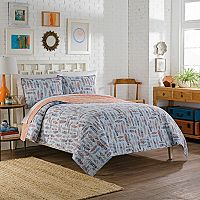 Vue 3-piece Zensa Reversible Quilt Set