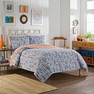 Vue 3-piece Zensa Reversible Quilt Set