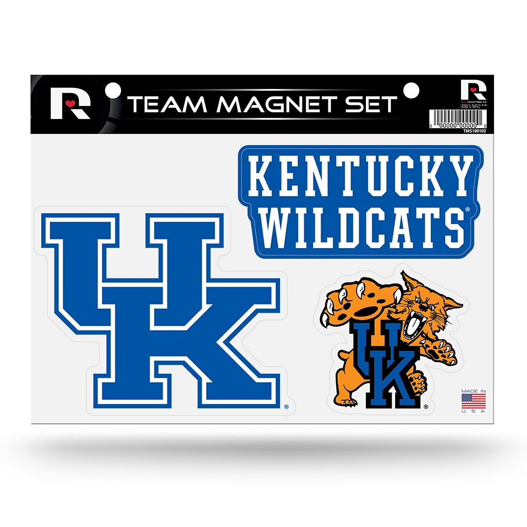 Kentucky Wildcats Team Magnet Set