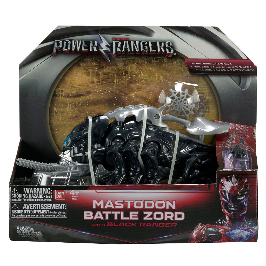 Power Rangers Movie Mastodon Battle Zord and Figure Pack