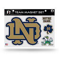 Notre Dame Fighting Irish Team Magnet Set