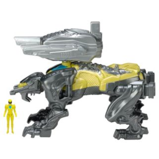 Power Rangers Movie Sabertooth Tiger Battle Zord and Figure Pack