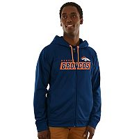 Men's Majestic Denver Broncos Game Elite Hoodie