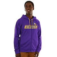 Men's Majestic Minnesota Vikings Game Elite Hoodie