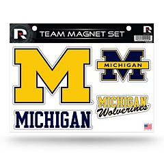 Michigan Wolverines Team Magnet Set