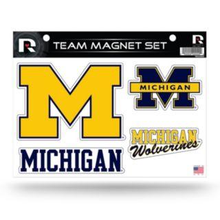 Michigan Wolverines Team Magnet Set