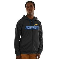 Men's Majestic Los Angeles Chargers Game Elite Hoodie