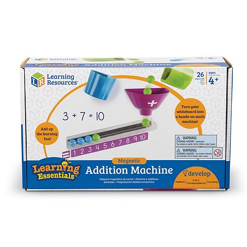 Learning Resources Magnetic Addition Machine