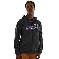Men's Majestic Baltimore Ravens Game Elite Hoodie