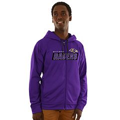 Men's Majestic Baltimore Ravens Game Elite Hoodie
