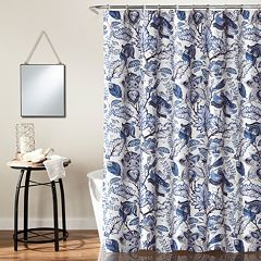 Lush Decor Cynthia Jacobean Shower Curtain
