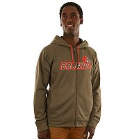 Men's Majestic Cleveland Browns Game Elite Hoodie