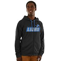 Men's Majestic Detroit Lions Game Elite Hoodie