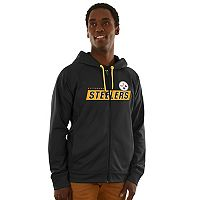 Men's Majestic Pittsburgh Steelers Game Elite Hoodie