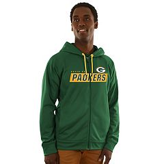 Men's Majestic Green Bay Packers Game Elite Hoodie
