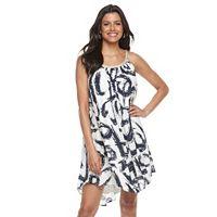 Women's Nina Leonard Gauze Shift Dress