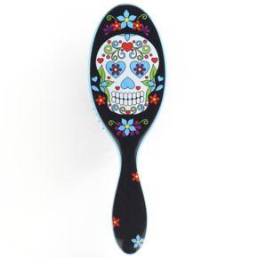 Wet Brush Detangler Hair Brush - Sugar Skull Blue