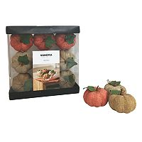 SONOMA Goods for Life™ Linen Pumpkin Vase Filler 9-piece Set