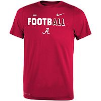 Boys 8-20 Nike Alabama Crimson Tide Legend FootbALL Tee