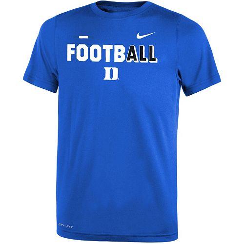 Boys 8-20 Nike Duke Blue Devils Legend FootbALL Tee