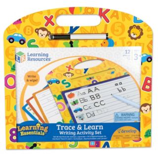 Learning Resources Trace & Learn Writing Activity Set