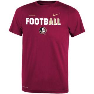 Boys 8-20 Nike Florida State Seminoles Legend FootbALL Tee