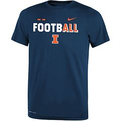 Boys 8-20 Nike Illinois Fighting Illini Legend FootbALL Tee