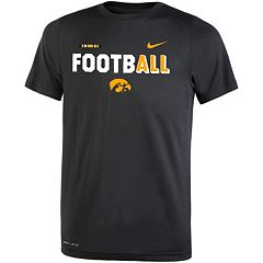 Boys 8-20 Nike Iowa Hawkeyes Legend FootbALL Tee