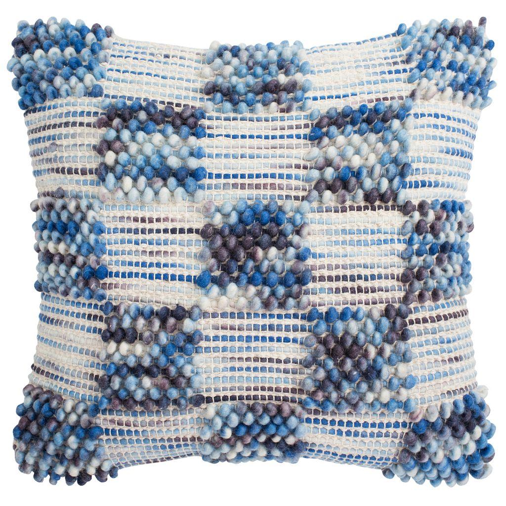 Safavieh Square Looped Throw Pillow