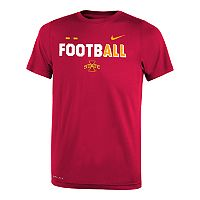 Boys 8-20 Nike Iowa State Cyclones Legend FootbALL Tee