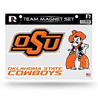 Oklahoma State Cowboys Team Magnet Set