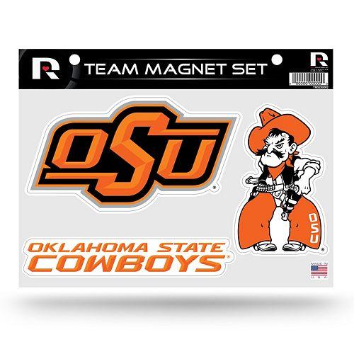 Oklahoma State Cowboys Team Magnet Set