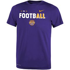 Boys 8-20 Nike LSU Tigers Legend FootbALL Tee