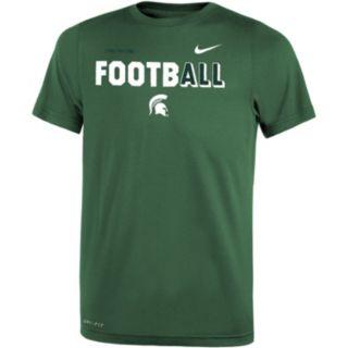 Boys 8-20 Nike Michigan State Spartans Legend FootbALL Tee