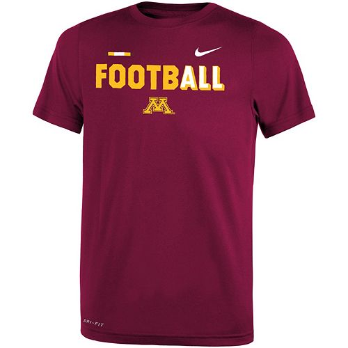 Boys 8-20 Nike Minnesota Golden Gophers Legend FootbALL Tee