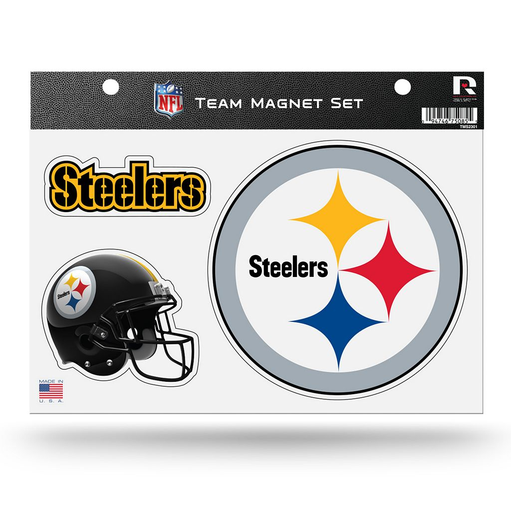 Pittsburgh Steelers Team Magnet Set