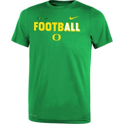 Boys 8-20 Nike Oregon Ducks Legend FootbALL Tee