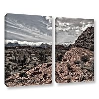 ArtWall Fingertip Afternoon Canvas Wall Art 2-piece Set