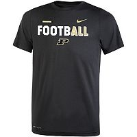 Boys 8-20 Nike Purdue Boilermakers Legend FootbALL Tee