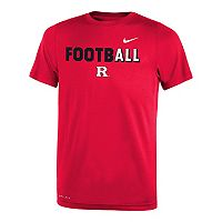 Boys 8-20 Nike Rutgers Scarlet Knights Legend FootbALL Tee