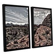 ArtWall Fingertip Afternoon Framed Wall Art 2 pc Set