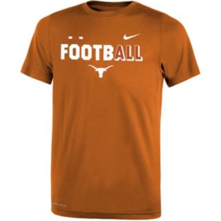 Boys 8-20 Nike Texas Longhorns Legend FootbALL Tee