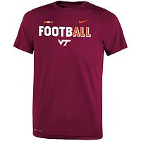 Boys 8-20 Nike Virginia Tech Hokies Legend FootbALL Tee