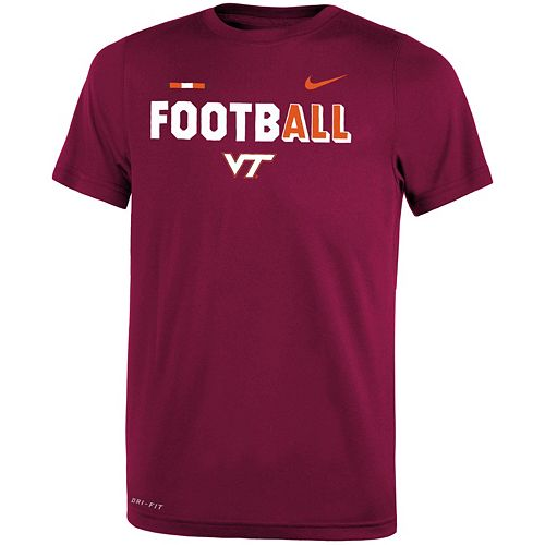 Boys 8-20 Nike Virginia Tech Hokies Legend FootbALL Tee