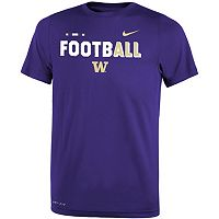 Boys 8-20 Nike Washington Huskies Legend FootbALL Tee