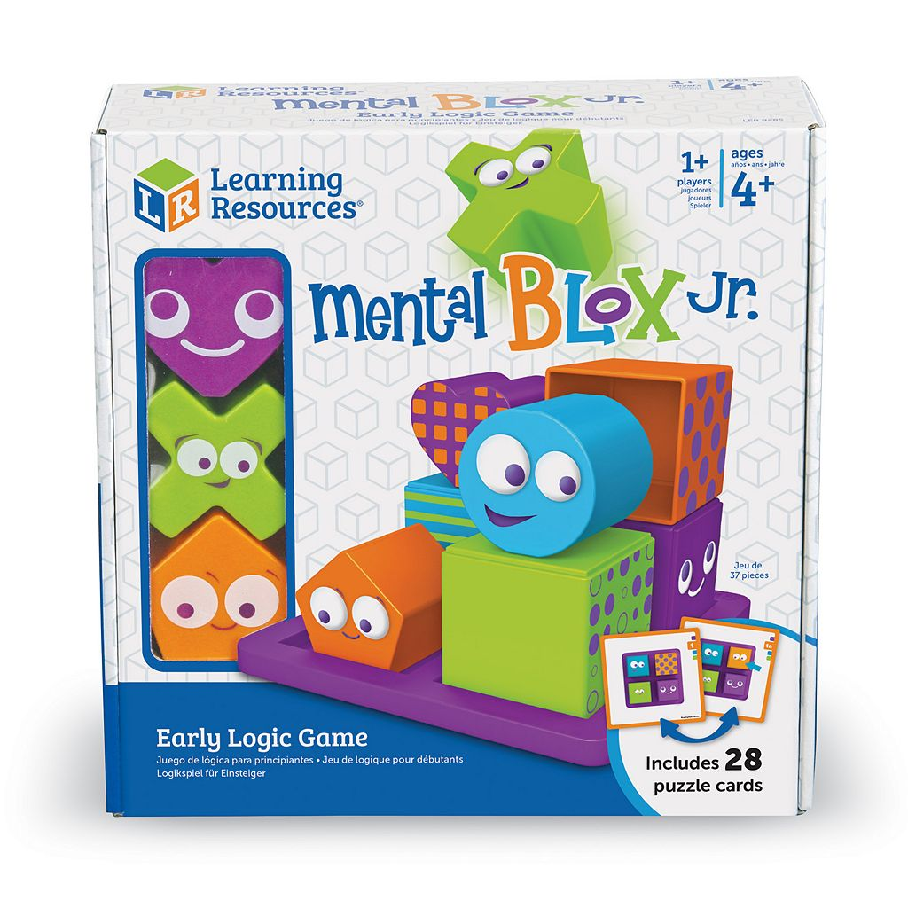 Learning Resources Mental Blox Jr. Early Logic Game