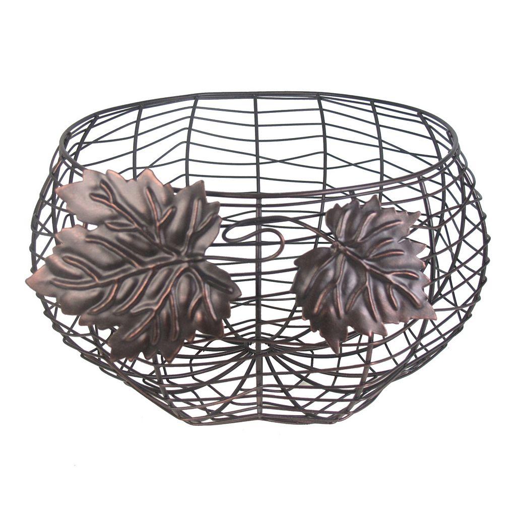 SONOMA Goods for Life™ Metal Pumpkin Decorative Bowl