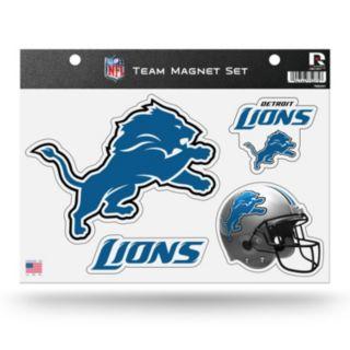 Detroit Lions Team Magnet Set